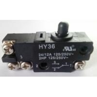 Wholesale Micro Electric Power Switch , Black Round Cap Push Button Power Switch AC from china suppliers
