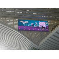 Wholesale Large Outdoor LED Ideo Wall Displays 1R1G1B Pixel Configuration 10000nit Brightness from china suppliers