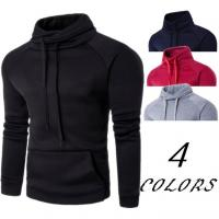 China Gym Mens Oversized Pullover Hoodie Terry Fabric Type 100% Cotton Material for sale