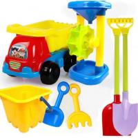 China 2020 Hot Sale Outdoor Sandbeach Toys Bucket Shovel Toddler Kids Children Beach Sand Toy Set Kids Plastic Beach Toys for sale