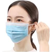 Wholesale FDA CE Approved FFP3 Disposable Face Mask 3 Ply Non Woven Customized Size from china suppliers