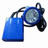 Wholesale 4,000Lux Ni-MH Battery LED Double-light Source with 3.6V Rated Voltage and 4.5Ah Capacity from china suppliers