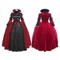 Wholesale Medieval Dress Wholesale XXS to XXXL Custom Made Elegant ROCOCO Gothic Fashion Medieval Prom Ball Gowns Victorian from china suppliers