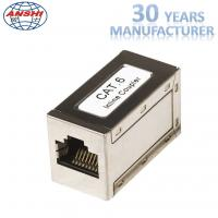 Wholesale RJ45 Cat6 Shielded Keystone Jack Metal Material Straight Through Install from china suppliers