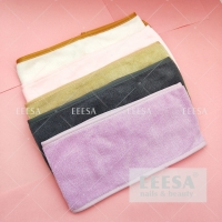 Wholesale 10*7Cm Colorful Headscarf For Hotel Spa Beauty Salon Women Head Wrap Towel from china suppliers