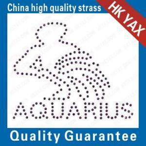 Wholesale fashion design process-portrait rhinestone hot fix motifs;china tactory hotfix motifs;amazing motif hotfix from china suppliers