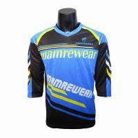 China Premium Mountain Bike Enduro Jersey / Team Cycling Jerseys For Men OEM  Service for sale