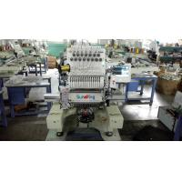 China Multifunction Computer Embroidery Machine Single Head With Touch Screen LCD for sale
