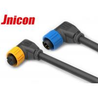 Wholesale Right Angle Waterproof Male Female Connector , 5 Pin Waterproof Battery Connector from china suppliers
