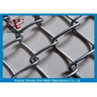Wholesale Wire Iron Dark Green Chain Link Fence PVC Coated for Football Playground from china suppliers