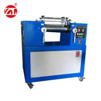 Wholesale LED Display Plastic Rubber Test Machine  , Lab Two Roll Hot Mill for EVA / PVC from china suppliers