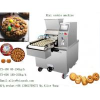 Wholesale PLC SS304 150kg/H Cake Shop Cookie Dropping Machine from china suppliers