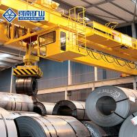 China Rotary Magnet Beam Port Lifting Equipment , Low Noise Material Handling Crane on sale