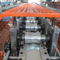 Fully Automatic Metal Roll Forming Machines / Hydraulic Cutting Door Frame Making Machine