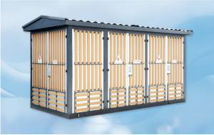Wholesale Outdoor Prefabricated Substation European Style Electrical Substation Box from china suppliers