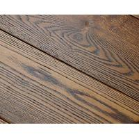 Buy cheap Brushed Ash wood flooring from wholesalers