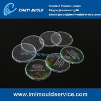 Wholesale 500g thin wall container cover mould with in mold label, thin wall plastic injection mould from china suppliers