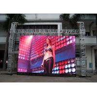 Multimedia Curtain Video Wall Led Display Rentals , High Resolution Led Screen