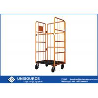 Wholesale Three Sides Closed Nesting steel mesh containers 830 * 710 * 2000mm Shelf Movable from china suppliers