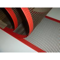 Quality Favorites Compare PTFE mesh belt with bull nose joint and reinforce edge for sale
