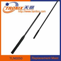 Wholesale 1 section mast car antenna/ replacement mast car antenna/ car antenna accessories TLN0050 from china suppliers