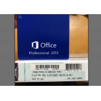 Wholesale Genuine Office 2013 Pro Download , Office 2013 For Windows 10 Retail Pack from china suppliers