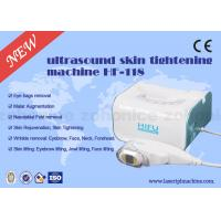 Vertical 800W Ultrasonic 3D HIFU Machine 3MHZ Frequency For Face Lifting for sale