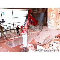 China China Factory Price Red Color Stationary Rock Breakers Booms Systems for sale