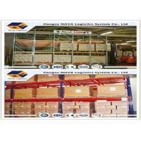 Wholesale CE ISO Gurantee Push Back Pallet Racking Q235 Steel For Frozen Warehouse Logistic from china suppliers