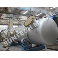 316L Double Tube Sheet Heat Exchanger for Chemical Processing Plant