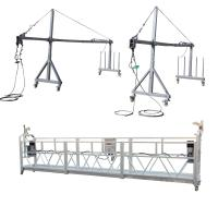 Buy cheap Aluminum ZLP800 Suspended Platform 7.5m 380V / 50HZ / 3P 100m Height from wholesalers