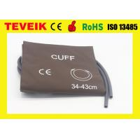 Wholesale M1575A PU Material Blood Pressure Cuff for Large Adult ,Single hose from china suppliers