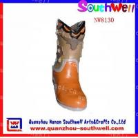 Wholesale Polyresin Girl's Boot Figurines from china suppliers