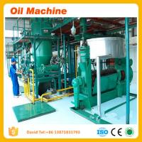 Wholesale 2016 Low cake residual oil rate 300TPD camellia seed oil refininig machine cold press oil from china suppliers