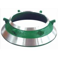 Customized Mantle / Bowl Liner Wear Parts , Painting Cone Crusher Components