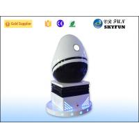 Wholesale Black and White 9D VR Simulator Virtual Reality Simulation Rides Games from china suppliers
