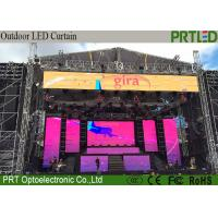 China Light Weight LED Curtain Screen P10.4 Full Color 500*1000mm Rental Or Fixed on sale