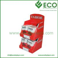 Wholesale New Carton 2 Tiers Shipping Counter Display for Boxes, Pop Up Cardboard Display Stand from china suppliers