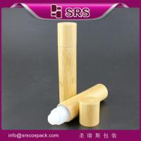 Wholesale 20ml empty bamboo bottle roller ball from china suppliers