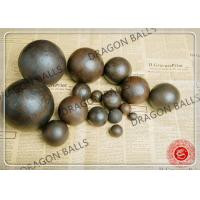 Wholesale Air Hammer Forged Grinding Balls , 50mm Forging Steel Balls For Ball Mill from china suppliers