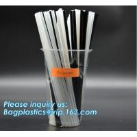 PLA Straws, disposable biodegradable PLA straw Individual Packed 100% Biodegradable PLA Straws,Compostable Biodegradable