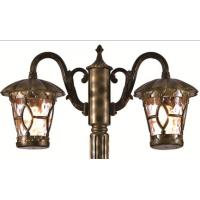 Decorative Classic Outdoor Garden Lights 2.5M High Water Glass Pole Lamp for sale