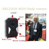 Wholesale 4G Bodycamera with GPS function Support LIve checking from PC & Mobile Phone from china suppliers