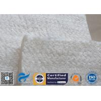 Wholesale High Silica Fiberglass Needle Mat 25MM 130KG 1260℃ Thermal Insulation 96% from china suppliers