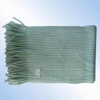 Wholesale 100 Percent Cashmere-like Knitted Ribbed Scarf from china suppliers