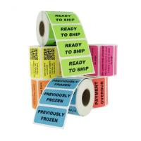 Waterproof Personalized Business Labels / Custom Label Printing Freeze Resistant for sale