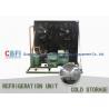 Fruits Vegetables Cold Room Refrigeration / Walk In Freezer And Refrigerator for sale