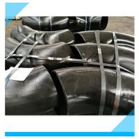 Wholesale Seamless Pipe Fittings Black Painting Butt Weld Semi Seamless CE Approved from china suppliers