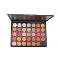 Easy To Smear Long Lasting High Pigment 35 Color Matte And Shimmer Eyeshadow Palette