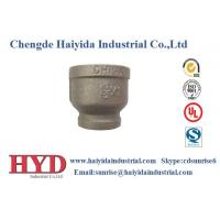 socket reducing black malleable iron pipe fitting cast iron UL factory